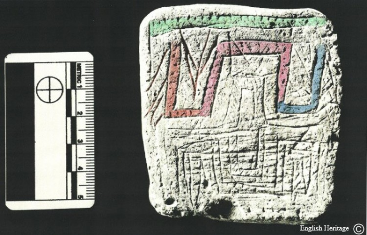 Stonehenge lost neolithic map