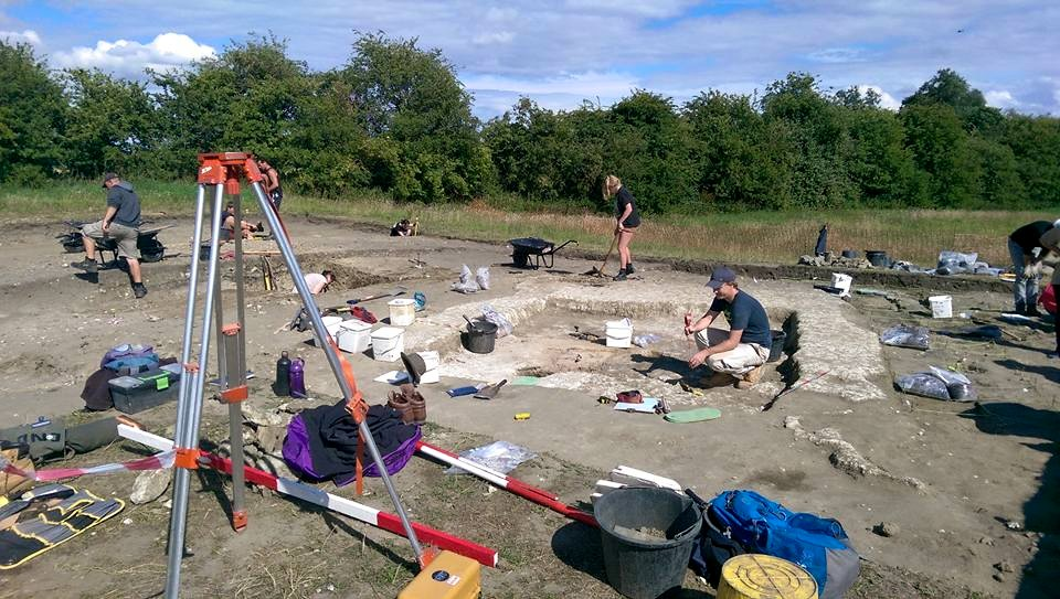 Marden Trench A 23 July 2015