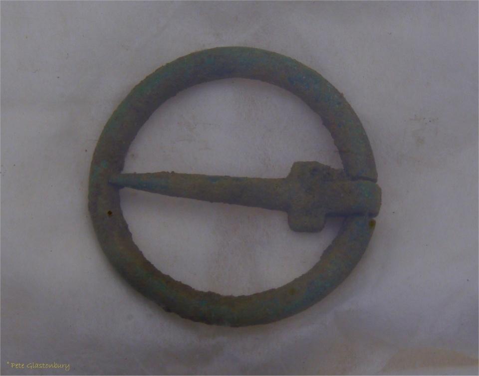 Marden Henge Roman brooch