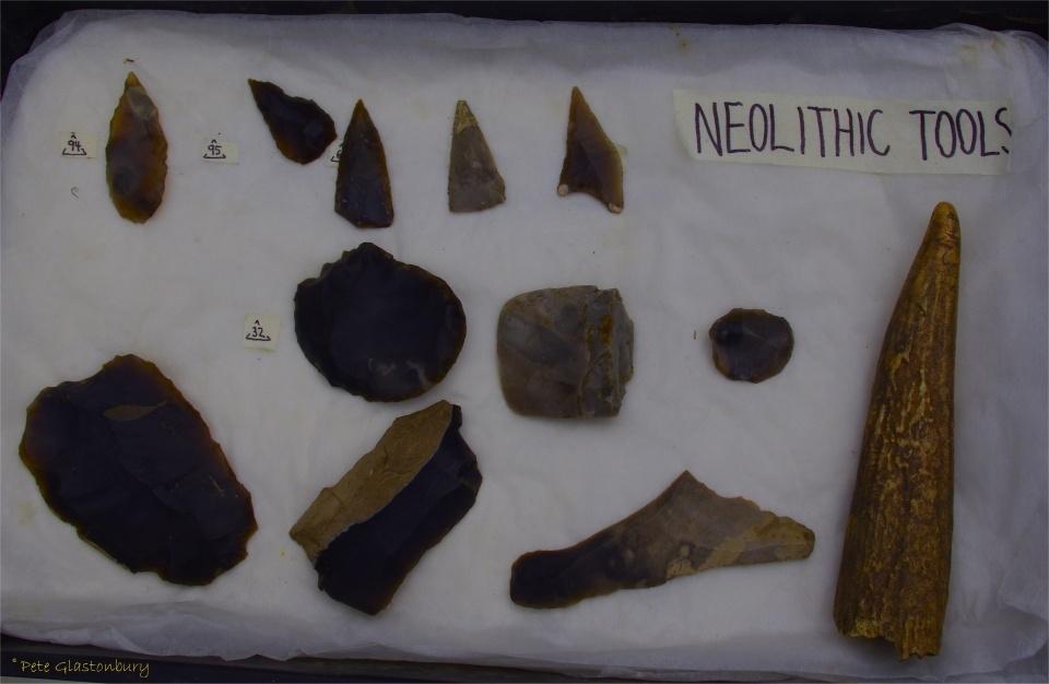 Marden Henge Neolithic tools