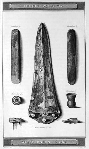 Winterbourne Stoke barrow finds