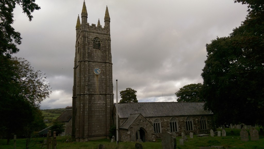 St Cleer parish church