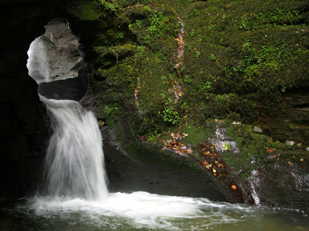 St Nectans Waterfall
