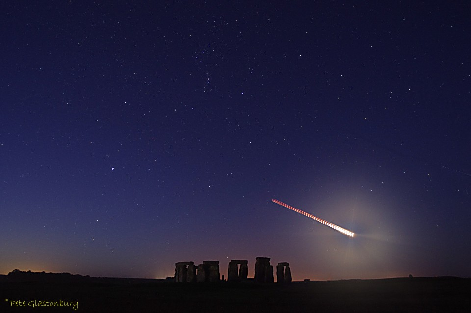 Stonehenge Eclipse montage 28 September 2015 Pete Glastonbury