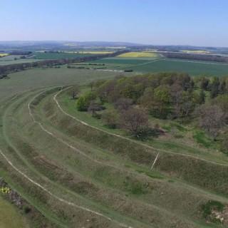 Badbury Rings Dorset