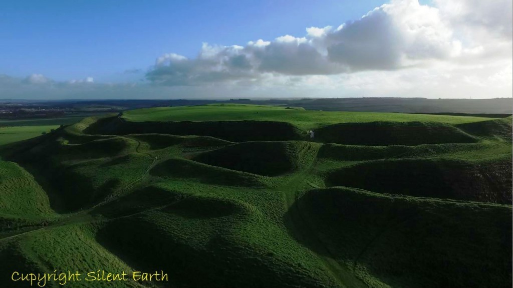 Maiden castle Dorset western entrance