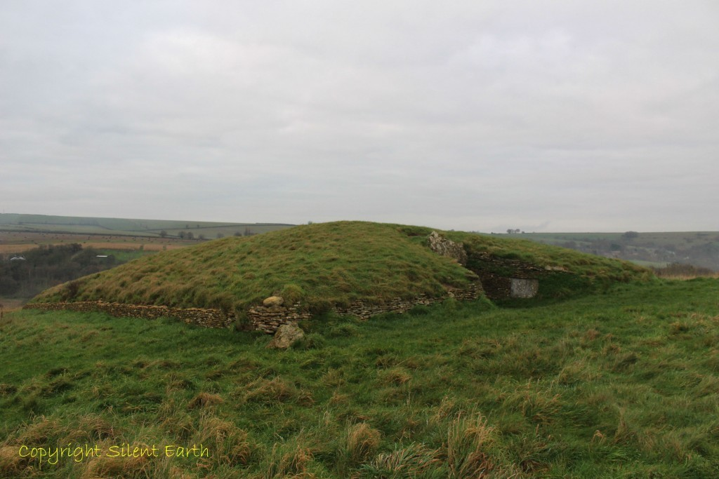 Stoney Littleton long barrow from the south west