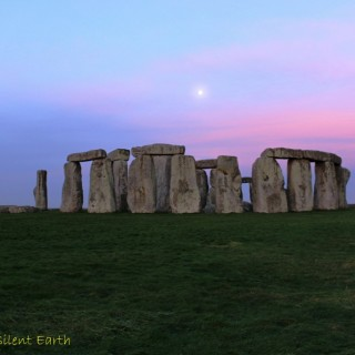 Moon at Stonehenge