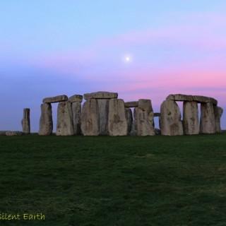 Moon at Stonehenge