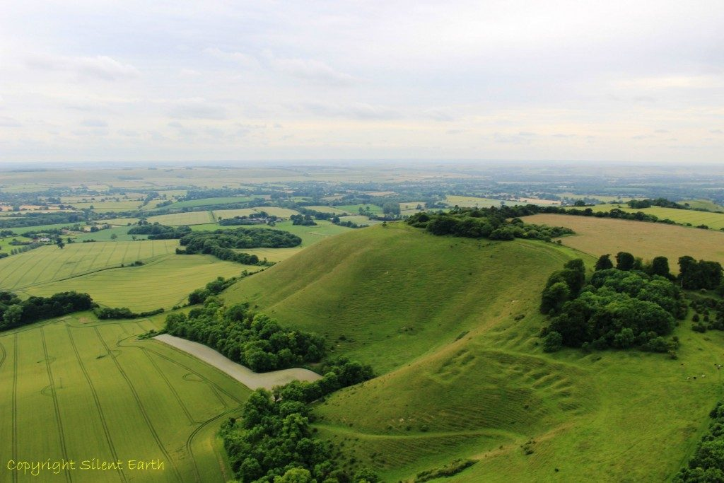 Martinsell Hill Oare Wiltshire From The Air