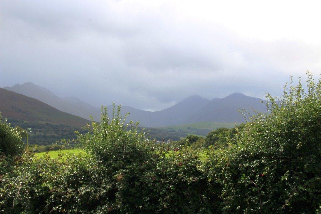 McGillycuddy Reeks mountain range