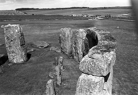 Restorations at Stonehenge