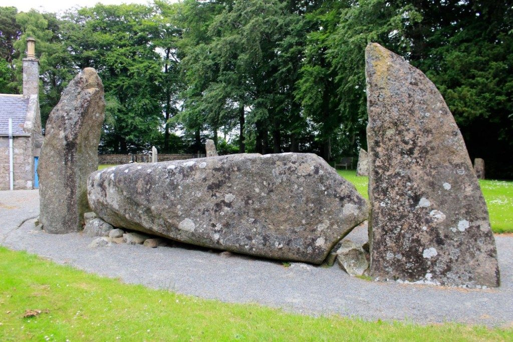 Midmar Kirk Recumbent Stone Circle