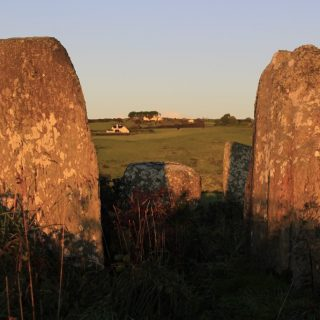 Equinox Sunrise at Bohonagh Stone Circle