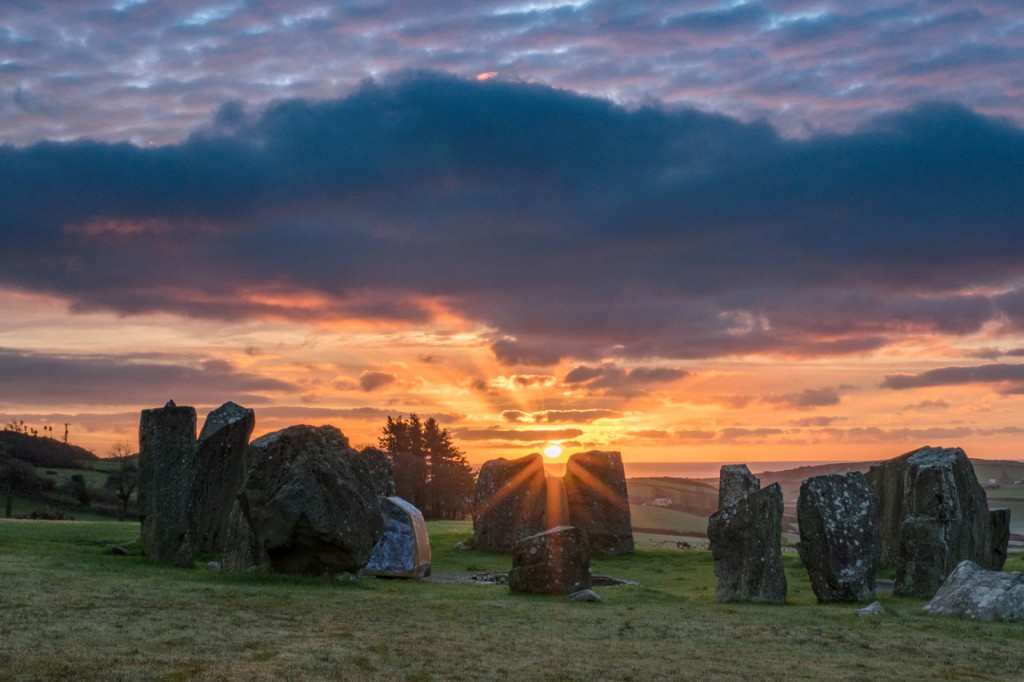 Drombeg Stone Circle and the Shadows Cast at Sunrise: A Solstice Poem by Dr Terence Meaden